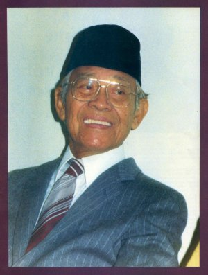 Muhammad Subuh Sumohadiwidjojo, founder of Subud, and known to Subud members as 'Babak'