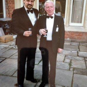Bobby Lamb with Robert of Poland at Anugraha