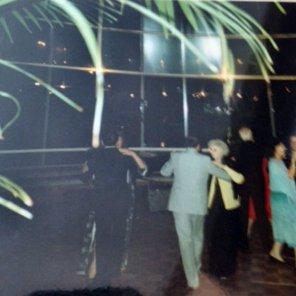 Dancing 'til 1am in the Indoor Garden at Anugraha