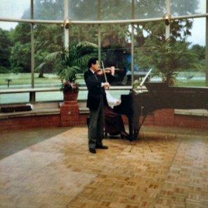 Raymond Prescott entertaining at a Subud Weekend at Anugraha, the Subud International Centre in the UK