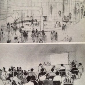 Sketches for the International Subud Centre