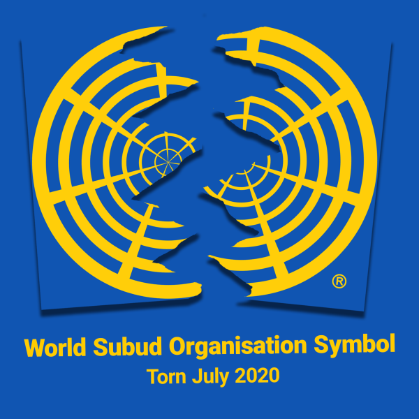 World Subud Logo split in two